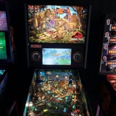 Jurassic Park pinball game